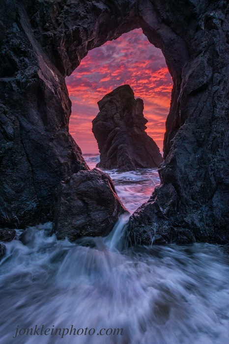 362 Sunset at Finger Arch 6x9